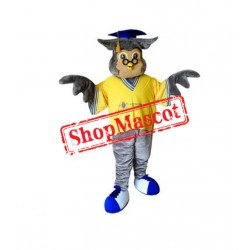 College Owl Mascot Costume Free Shipping