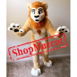 Friendly  Lightweight Lion Mascot Costume Free Shipping