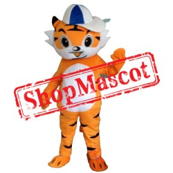 Happy Boy Tiger Mascot Costume