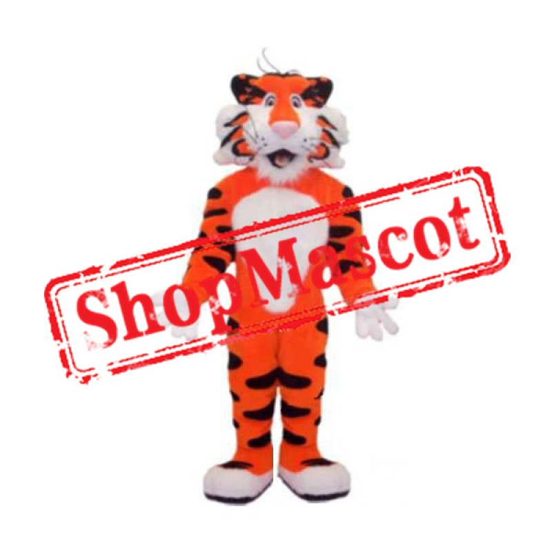 Super Cute Tiger Mascot Costume Free Shipping