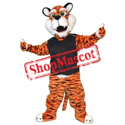 College Sport Tiger Mascot Costume Free Shipping
