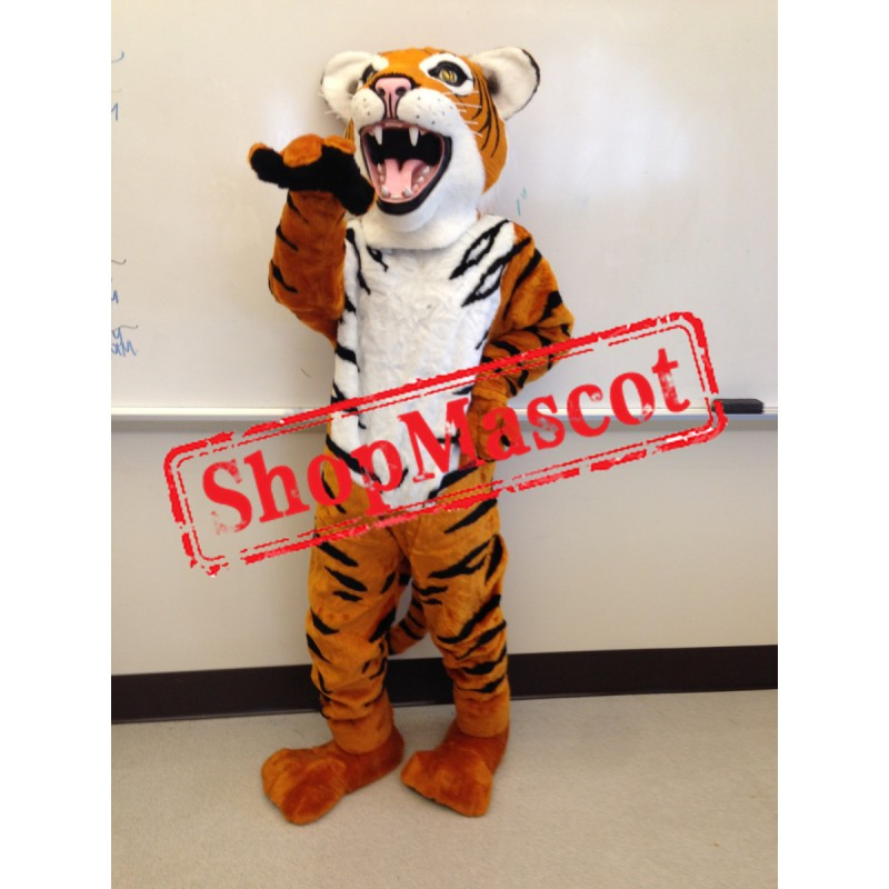 Fierce Tiger Mascot Costume Free Shipping
