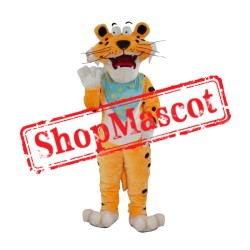 Lovely Lightweight Tiger Mascot Costume Free Shipping