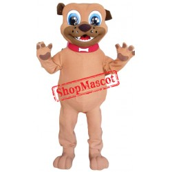 Cheap Brown Puppy Dog Mascot Costume