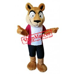 Sport Squirrel Mascot Costume Free Shipping