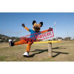 Top Quality Wild Dog Mascot Costume