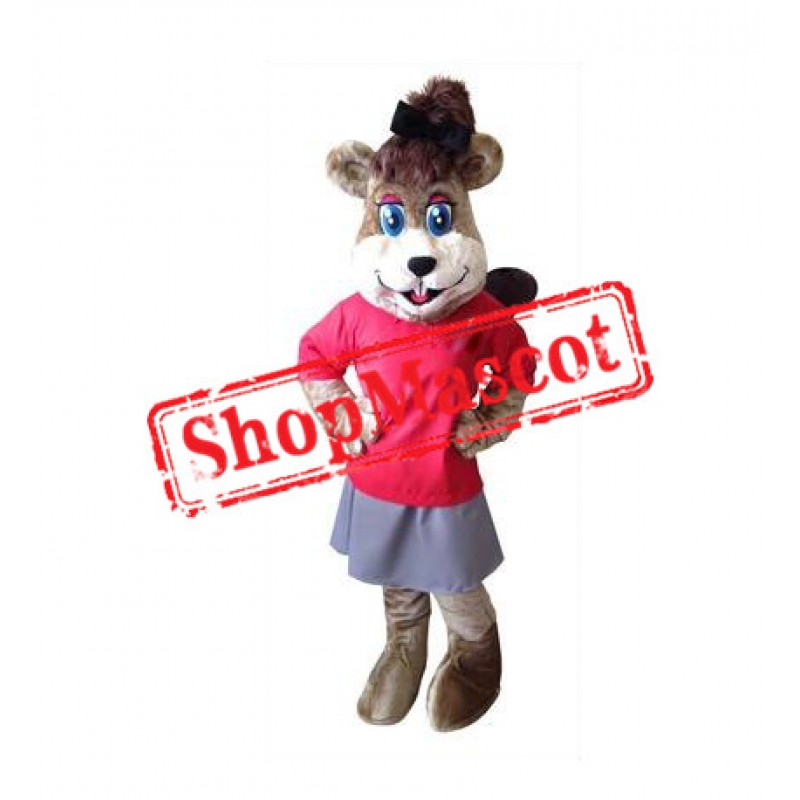 Squirrel Girl Mascot Costume