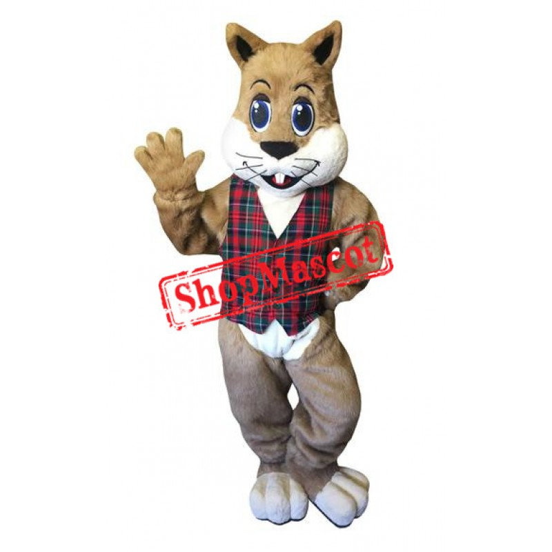 Happy Animal Squirrel Mascot Costume
