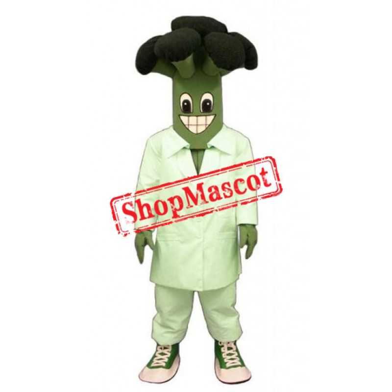 Yummy Broccoli Mascot Costume