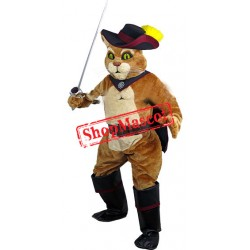 Top Quality Puss Cat Mascot Costume