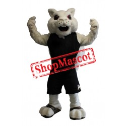Sport White Squirrel Mascot Costume