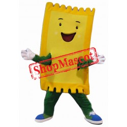 Golden Ticket Mascot Costume