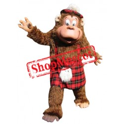 Happy Gorilla Mascot Costume Free Shipping
