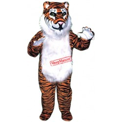 Lovable Tiger Mascot Costume