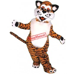 Lovable Lightweight Tiger Mascot Costume
