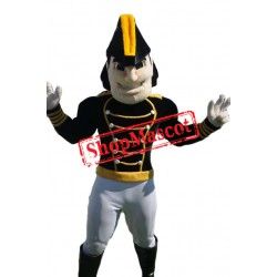 Handsome Commodore Mascot Costume