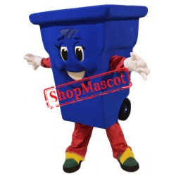 Recycling Bin Mascot Costume