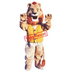 Happy Animal Lion Mascot Costume