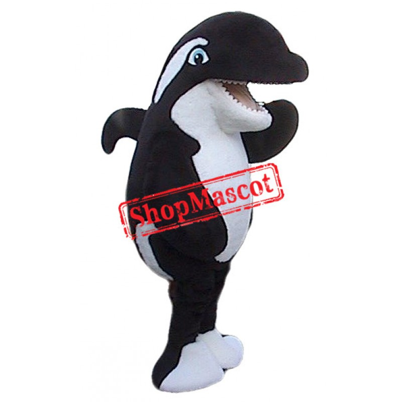 Top Quality Killer Whale Mascot Costume