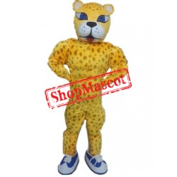 Power Cheetah Mascot Costume