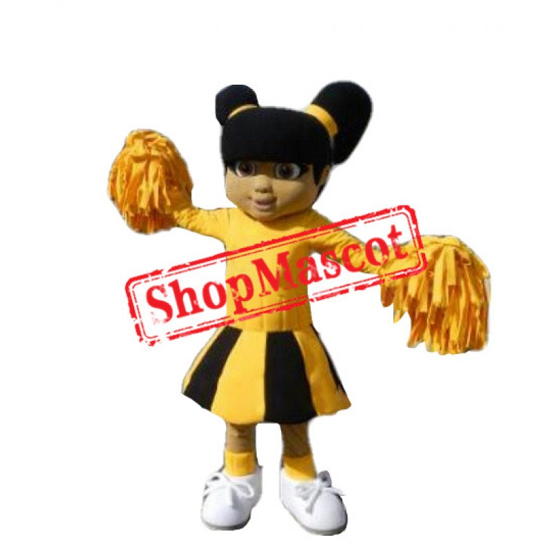 School Cheerleader Mascot Costume