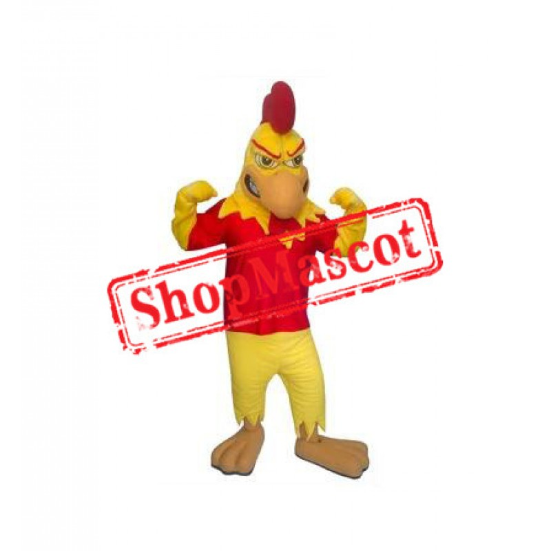 Fierce Chicken Mascot Costume