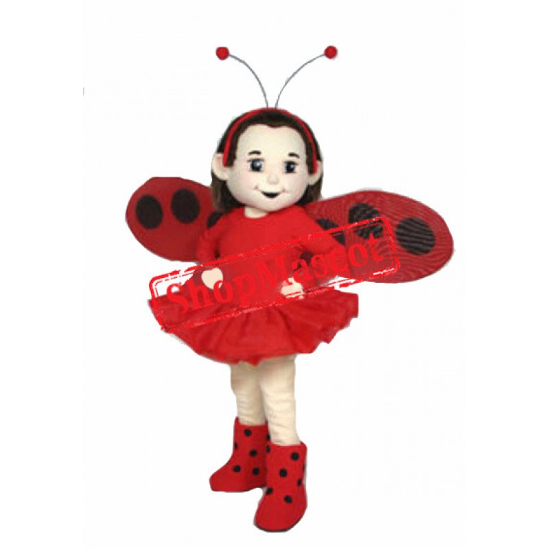 Butterfly Girl Mascot Costume