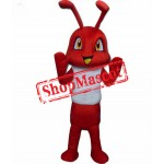 Red Ant Mascot Costume Free Shipping