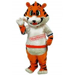 Cute Little Tiger Mascot Costume