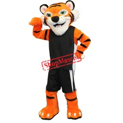Super Friendly Tiger Mascot Costume