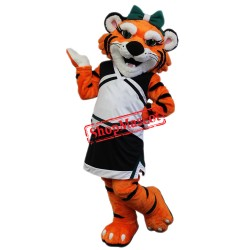 Sport Female Tiger Mascot Costume