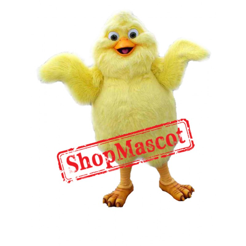 Super Cute Yellow Chicken Baby Mascot Costume