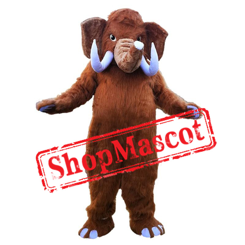 High Quality Mammoth Elephant Mascot Costume
