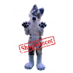 Super Cute Wolf Dog Mascot Costume