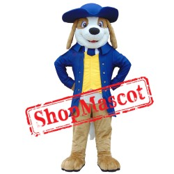 Handsome Beagle Dog Mascot Costume