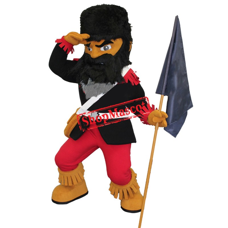 Mountaineer Mascot Costume