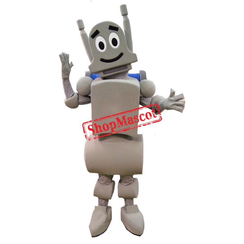 Happy Robot Mascot Costume