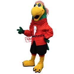 Captain Parrot Mascot Costume