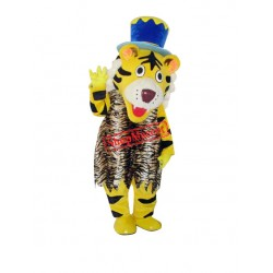 Happy Tiger Mascot Costume Free Shipping