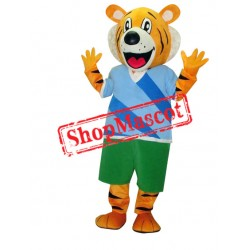 Happy School Tiger Mascot Costume