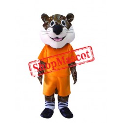 Happy School Leopard Mascot Costume