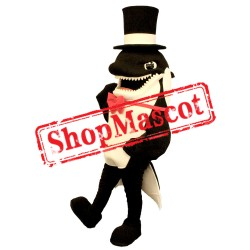 High Quality Killer Whale Mascot Costume