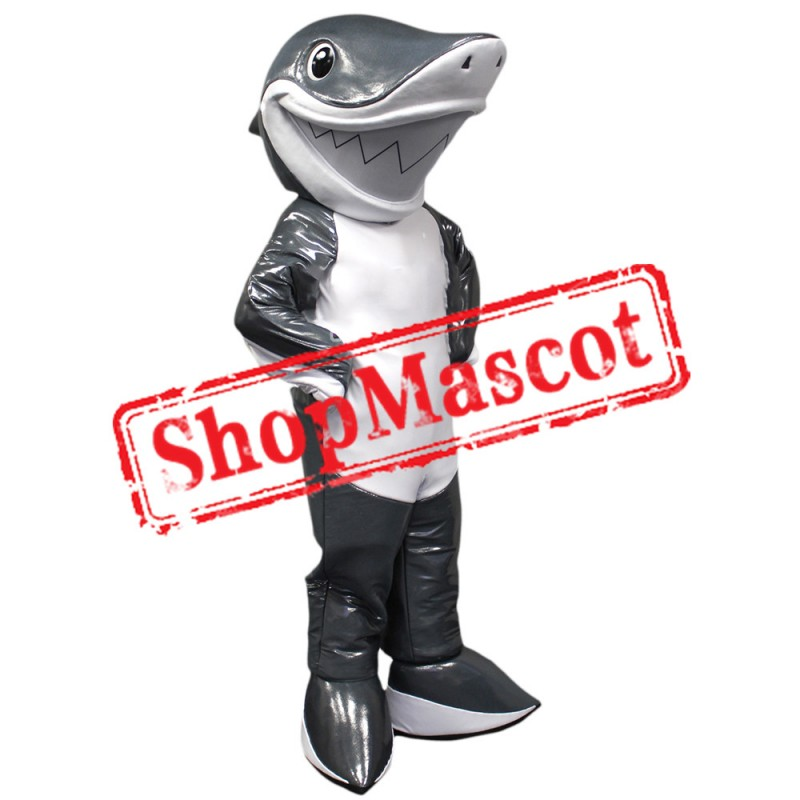 Friendly Shark Mascot Costume Free Shipping