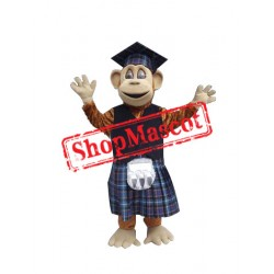 Learned Monkey Mascot Costume