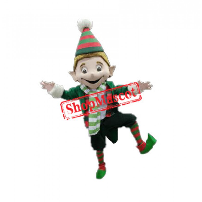 Big Elfie Mascot Costume