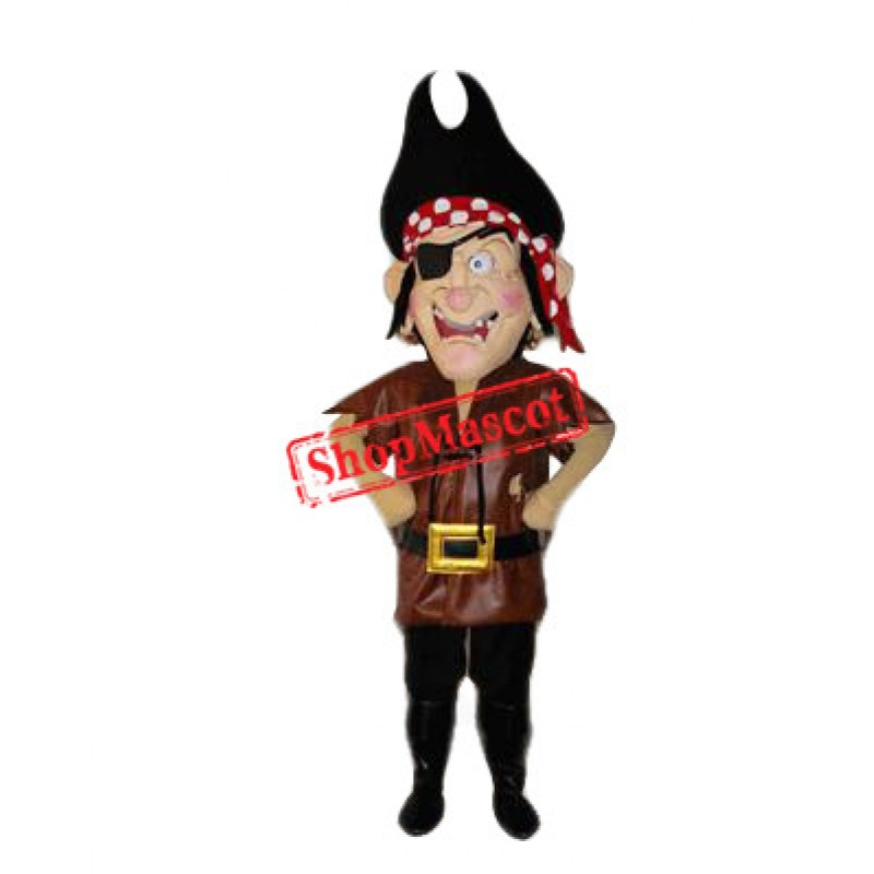 Funny Pirate Mascot Costume