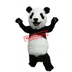 Super Lovely Panda Mascot Costume Free Shipping