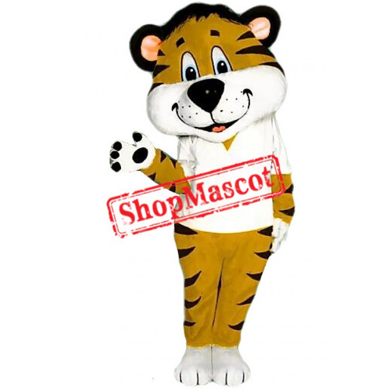 Power College Tiger Mascot Costume