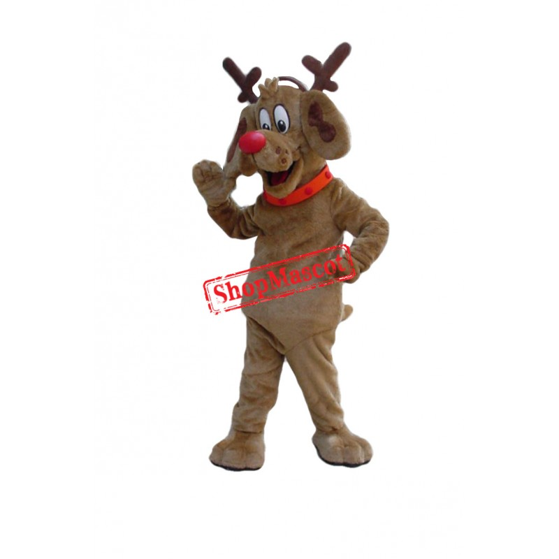 Friendly Deer Mascot Costume