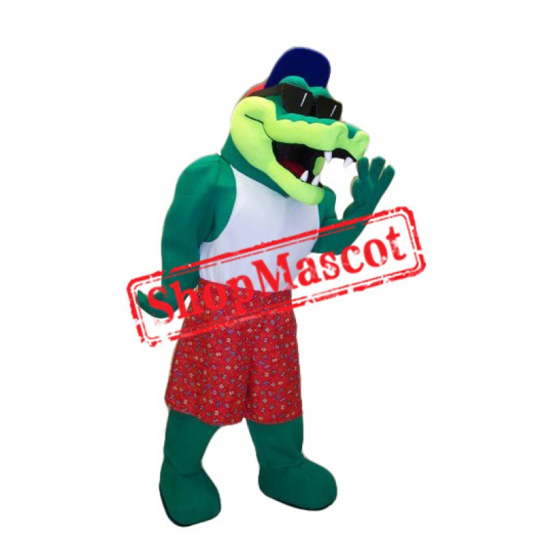Cool Crocodile Mascot Costume